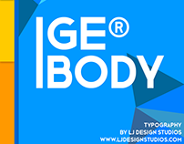 GE BODY Typography