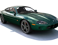 JAGUAR XK8 MAYA MODEL