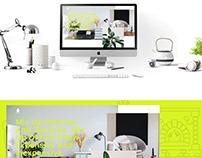 MDesign/Interior Design Companie Website Concept