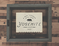 Yosemite - Hand Drawn Font