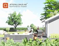 Attefallshus 25 kvadrat Inspiration