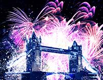 Firework Photoshop Action - Firework Sparks Effect