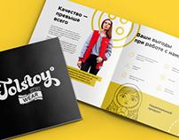 "Marketing Kit for ""Tolstoy Wear"""