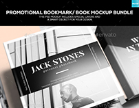 Promotional Bookmark/ Book Mockup Bundle