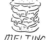 melting burger
