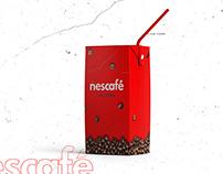 nescafé logo rebranding concept