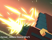 Animation Showreel 2015