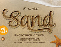 Sand Photoshop Action