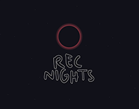 Logo Redesign For Rec Nights