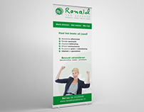 Ronald van Akkeren Roll-up banner