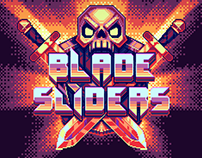 "Pixel artwork for mobile indie game ""Blade Sliders"""
