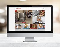 New Rev-A-Shelf Website Design