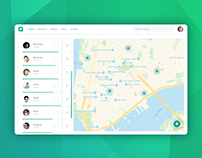 Daily UI #029 - Map - free Sketch source