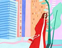 品味/品蔚_品牌形象插畫設計_Brand Illustration Design