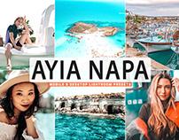 Free Ayia Napa Mobile & Desktop Lightroom Presets