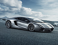 CGI Lamborghini Aventador
