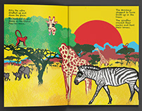 Zilly Zebra - One Of A Kind - Children's picture book