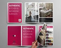 Silestone Brochure Design