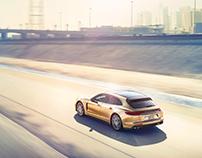 2018 Porsche Panamera // CGI