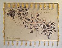 """Fijet Qe Lidhin Familjen"" - Tapestry Design"