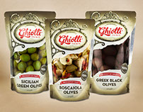 Ghiotti - Brand Identity and Packaging