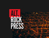 Alternative Rock Press — Branding & Website Redesign