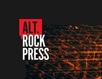 Alternative Rock Press — Branding & Website Redesign