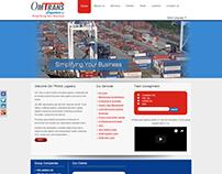 Web design & development for Om Trans
