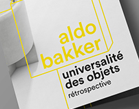 aldo bakker // brochure layout