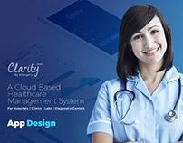 Hospital Management App Design