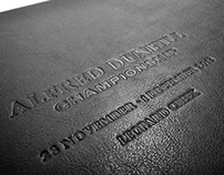 Editorial Design: Alfred Dunhill Championship 2013