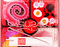 Yasuragi Land - Vinyl and CD Artwork
