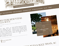 Chateau Balac Webdesign
