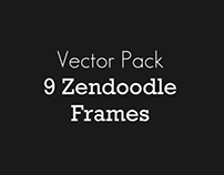 9 Zendoodle Frames