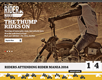 Royal Enfield Rider Mania Site