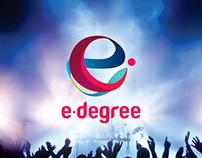 E-Degree Logo Design
