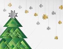 Invitación para fiesta de Navidad