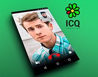 ICQ | redesign for ANDROID
