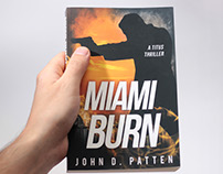 Book cover (Miami Burn 1st in series)