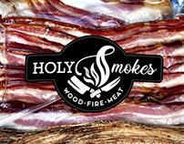 Holy Smokes - Logo Design