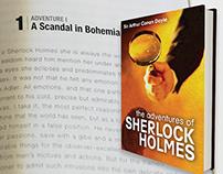 Sherlock Holmes Book Layout