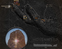 Hovenweep National Monument Trail map motiongraphic