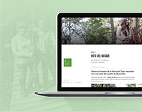 Green Forest Tours - Website