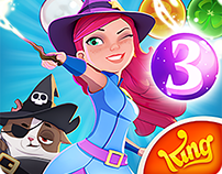 UI/Ux Artist Bubble Witch 3