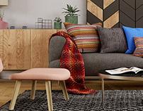 Beppe's living room