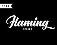 FREE | Flaming Script