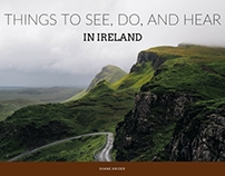 Things to See, Do, and Hear in Ireland