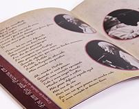 Encarte para CD