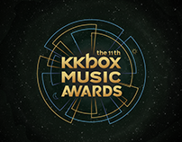 Visual Proposal of 11th KKBOX MUSIC AWARDS