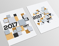 Creative geometric design for your greetings cards